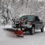 snow-plowing